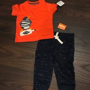 Baby Boys Gymboree Shirt and Sweatpants